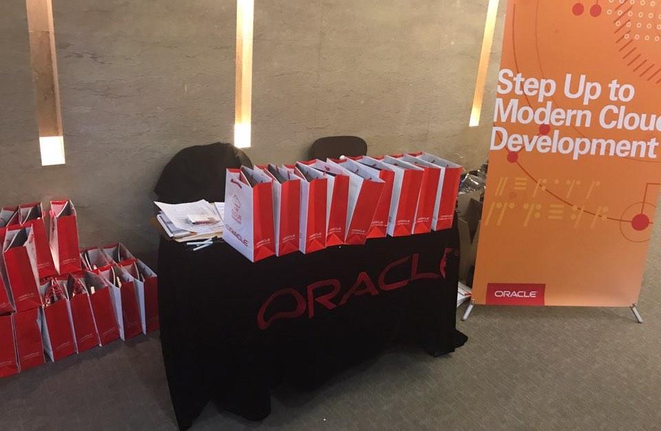 Oracle Developer Meetup와 함께한 분들을 위한 기념품