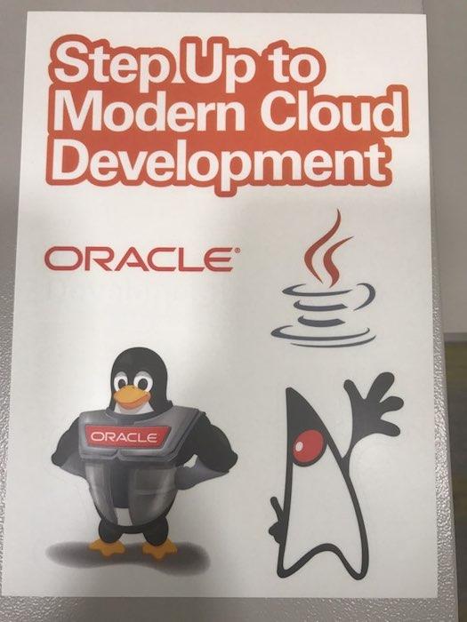 Oracle Developer Meetup에서 제작한 스티커